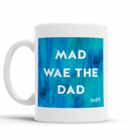 Doofery - Mad Wae The Dad Mug - Blue